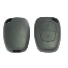 2-knops sleutelbehuizing Nissan 000046