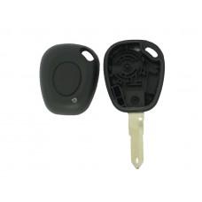 1-knops sleutel behuizing Renault 000048