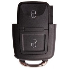 Skoda sleutel behuizing 2-knops klapsleutel 000049