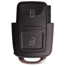 Sleutel behuizing Volkswagen klapsleutel 2 knoppen 000049